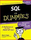 SQL for Dummies, Allen G. Taylor, 0764507370