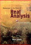 Resources for the Study of Real Analysis, Brabenec, Robert, 0883857375