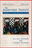 The American Record since 1865, Graebner, William and Richards, Leonard L., 007231737X