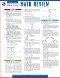 Math Review - REA's Quick Access Reference Chart, Editors of REA, 0738607371