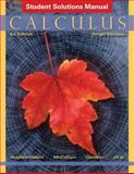 Calculus : Single Variable Student Solutions Manual, Hughes-Hallett, Deborah and Gleason, Andrew M., 1118217373
