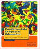Fundamentals of Special Education : What Every Teacher Needs to Know, Culatta, Richard and Tompkins, James R., 0130977381