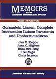 Gorenstein Liaison, Complete Intersection Liaison Invariants, and Unobstructedness, Jan O. Kleppe and Rosa M. Miró-Roig, 0821827383