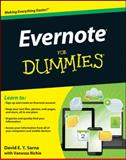 Evernote for Dummies, David E. Y. Sarna, 1118107381