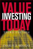 Value Investing Today, Brandes, Charles H., 0071417389
