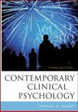 Contemporary Clinical Psychology, Plante, Thomas G., 0470587393