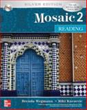 Mosaic 2 Reading Student Book w/ Audio Highlights : Silver Edition, Wegmann and Wegmann, Brenda, 0073337390