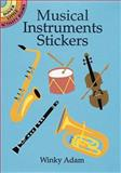 Musical Instruments Stickers, Winky Adam, 048640739X