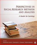 Perspectives in Social Research Methods and Analysis 9781412967396