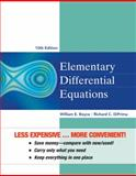 Elementary Differential Equations, Boyce, William E., 1118157397