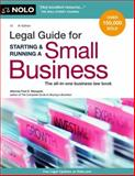 Legal Guide for Starting and Running a Small Business, Attorney, Fred S Steingold, 1413317391