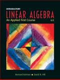 Introductory Linear Algebra : An Applied First Course, Kolman, Bernard and Hill, David, 0131437402