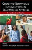 Cognitive-Behavioral Interventions in Educational Settings, , 0415807409