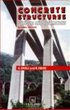 Concrete Structures : Stresses and Deformations, Ghali, Amin and Favre, R., 041917740X