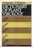 Dictionary of Plant Virology 9780444987402