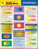 Statistics I Exam Notes, Research & Education Association Editors, 0878917403