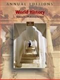World History, Volume 1 : Prehistory To 1500, Mitchell, Joseph R. and Mitchell, Helen Buss, 0073397407