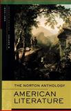 The Norton Anthology of American Literature, Arnold Krupat, Robert S. Levine, 0393927407