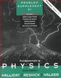 Fundamentals of Physics, Halliday, David and Resnick, Robert, 0471377406