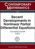 Recent Developments in Nonlinear Partial Differential Equations, , 0821837400