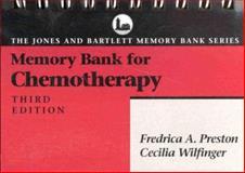 Memory Bank for Chemotherapy, Preston, Fredrica A. and Wilfinger, Cecilia, 086720740X