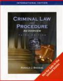 Criminal Law and Procedure : An Overview, Bacigal, Ronald J., 1428317414
