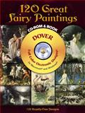 120 Great Fairy Paintings CD-ROM and Book, , 0486997413