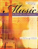 Music in Theory and Practice, Benward, Bruce and Saker, Marilyn, 0073127418