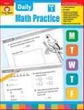 Daily Math Practice, Grade 1, Evan-Moor, 1557997411