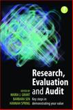 Research, Evaluation and Audit, Barbara Sen and Maria J. Grant, 1856047415