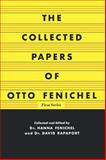 The Collected Papers of Otto Fenichel, Otto Fenichel, 0393337413