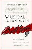 Musical Meaning in Beethoven 9780253327420