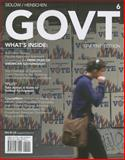 GOVT (includes CourseMate with EBook Printed Access Card), Edward I. Sidlow and Beth Henschen, 128543742X