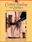 Content Reading and Literacy : Succeeding in Today's Diverse Classrooms, Alvermann, Donna E. and Phelps, Stephen F., 0205327427