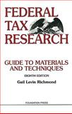 Federal Tax Research, 8th, Richmond, Gail Levin, 1599417421