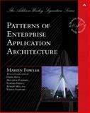 Patterns of Enterprise Application Architecture, Fowler, Martin, 0321127420