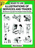 Ready-to-Use Illustrations of Services and Trades, Bob Giuliani, 0486287432