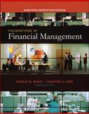 Foundations of Financial Management, Block, Stanley B. and Hirt, Geoffrey A., 0073257435