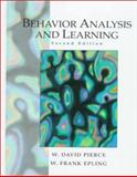 Behavior Analysis and Learning, Pierce, W. David and Epling, W. Frank, 0130807435