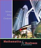 Mathematics for Business, Salzman, Stanley A. and Miller, Charles D., 0321357434