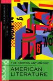 Norton Anthology of American Literature 7e V E, , 0393927431
