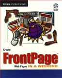 Create Front-Page Web Pages in a Weekend, David Karlins, 0761507434
