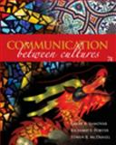 Communication Between Cultures, Samovar and Porter, Richard E., 0495567442
