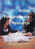Doing Postgraduate Research, Potter, Stephen, 0761947442