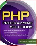 PHP Programming Solutions, Vaswani, Vikram, 007148745X