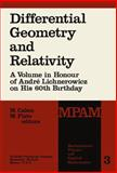 Differential Geometry and Relativity, , 9027707456