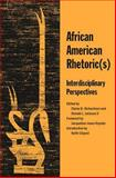 African Amer Rhetorics, Richardson, Elaine B. and Jackson, Ronald L., 0809327457