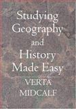 Studying Geography and History Made Easy, Verta Midcalf, 1419617451