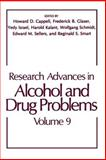 Research Advances in Alcohol and Drug Problems, , 1461577454