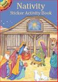 Nativity Sticker Activity Book, Marty Noble, 048641745X